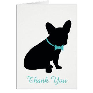 Cartões de agradecimentos de Frenchie