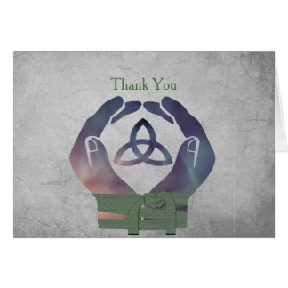 Cartões de agradecimentos de Handfasting da