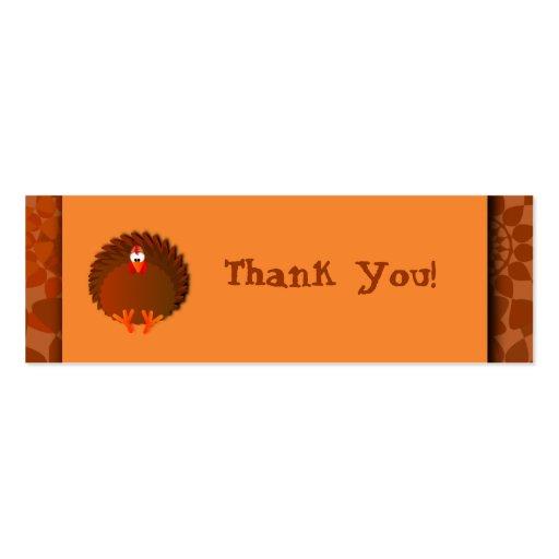 Cartões de agradecimentos de Henny Cartao De Visita