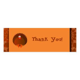 Cartões de agradecimentos de Henny Cartão De Visita Skinny