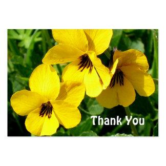 Cartões de agradecimentos de JohnnyJumpUps Cartão De Visita Grande