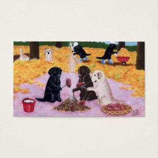 Cartões de agradecimentos de Labradors