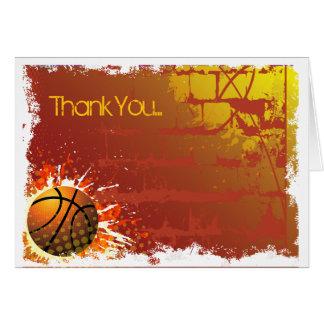 Cartões de agradecimentos de Mitzvah do bar do