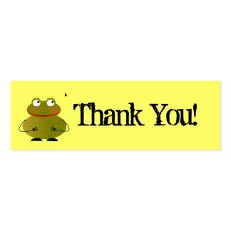 Cartões de agradecimentos de Oscar Cartão De Visita Skinny