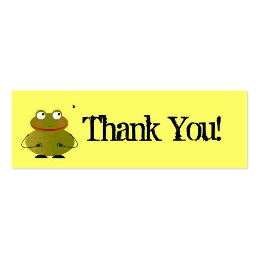 Cartões de agradecimentos de Oscar Cartoes De Visita