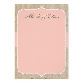 Cartões de agradecimentos de serapilheira do pêsse convites personalizado