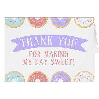 Cartões de agradecimentos do aniversário da