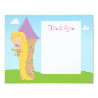Cartões de agradecimentos do aniversário de convite 10.79 x 13.97cm
