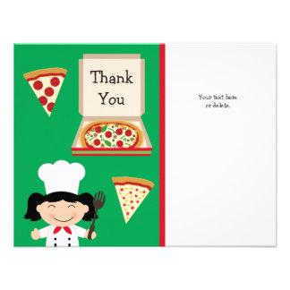 Cartões de agradecimentos do aniversário do partid convites personalizados