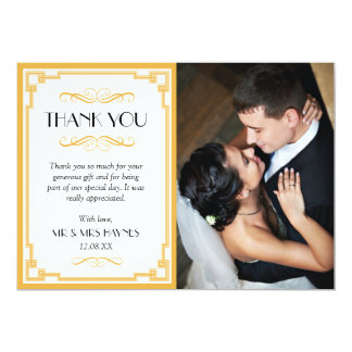 Cartões de agradecimentos do casamento, cartão