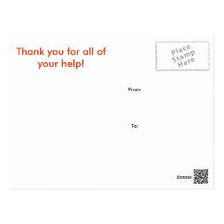 Cartões de agradecimentos do cavalheiro e do cartão postal