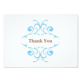 Cartões de agradecimentos do chá de fraldas convites