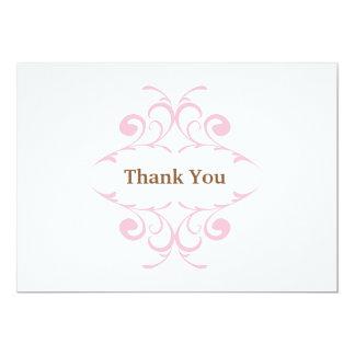 Cartões de agradecimentos do chá de fraldas convites personalizados