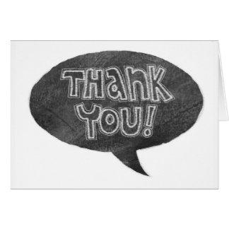 Cartões de agradecimentos do design do quadro