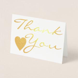 Cartões de agradecimentos do dia do casamento do
