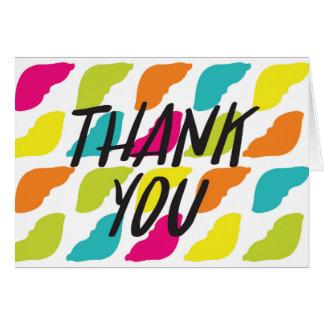 Cartões de agradecimentos do fígado
