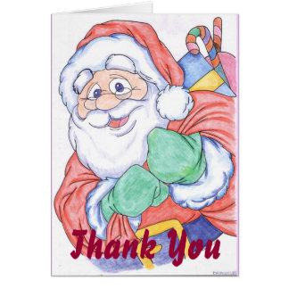 Cartões de agradecimentos do Natal