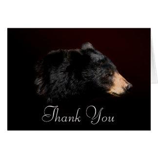 Cartões de agradecimentos dos animais selvagens do