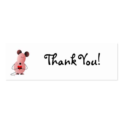 Cartões de agradecimentos dos namorados modelos cartões de visitas