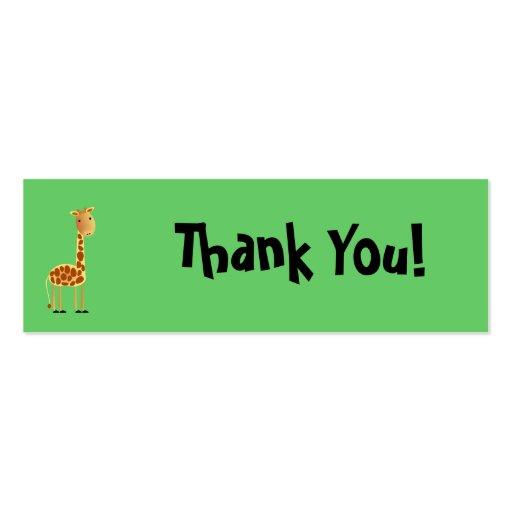 Cartões de agradecimentos dos salpicos cartão de visita