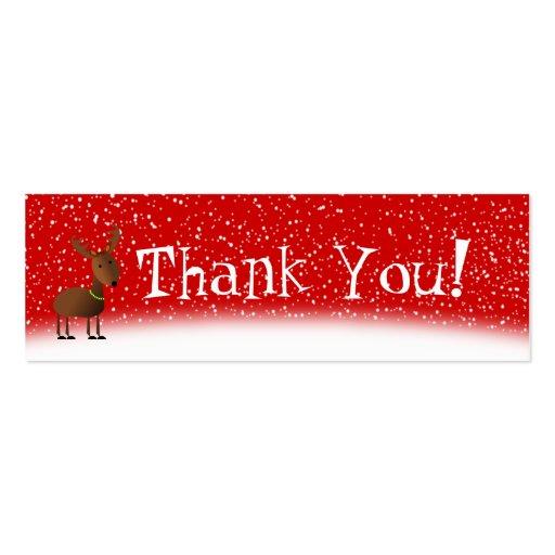 Cartões de agradecimentos dos tinir cartoes de visita