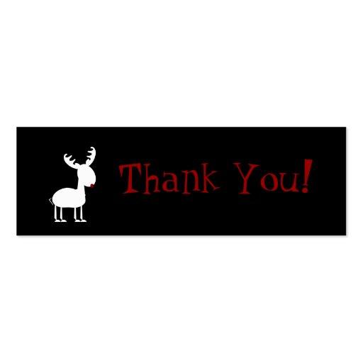 Cartões de agradecimentos dos tinir cartoes de visitas