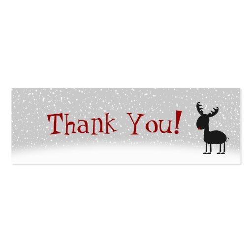 Cartões de agradecimentos dos tinir cartao de visita