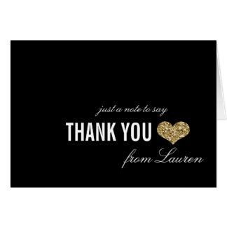 Cartões de agradecimentos dourados do doce 16 da