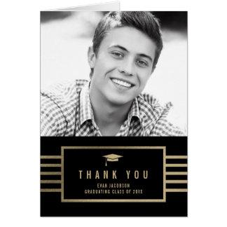Cartões de agradecimentos EDITÁVEIS da graduação
