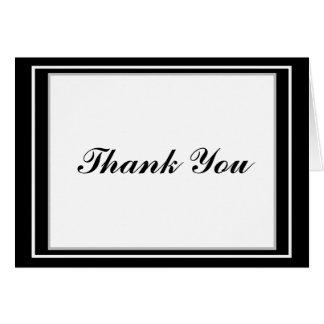 Cartões de agradecimentos elegantes de Mitzvah do