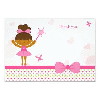 Cartões de agradecimentos feericamente do convite personalizado