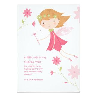Cartões de agradecimentos feericamente mágicos