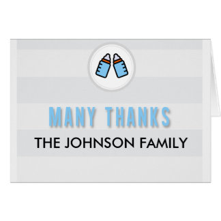 Cartões de agradecimentos feitos sob encomenda