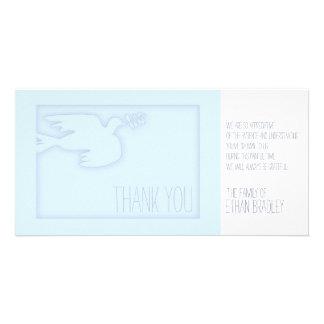 Cartões de agradecimentos feitos sob encomenda da cartão com foto