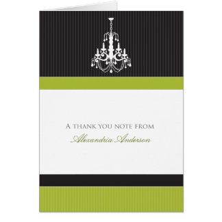 Cartões de agradecimentos feitos sob encomenda do