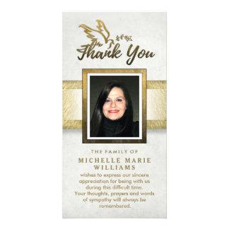 Cartões de agradecimentos feitos sob encomenda do cartão com foto
