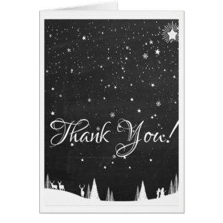 Cartões de agradecimentos festivos do feriado do