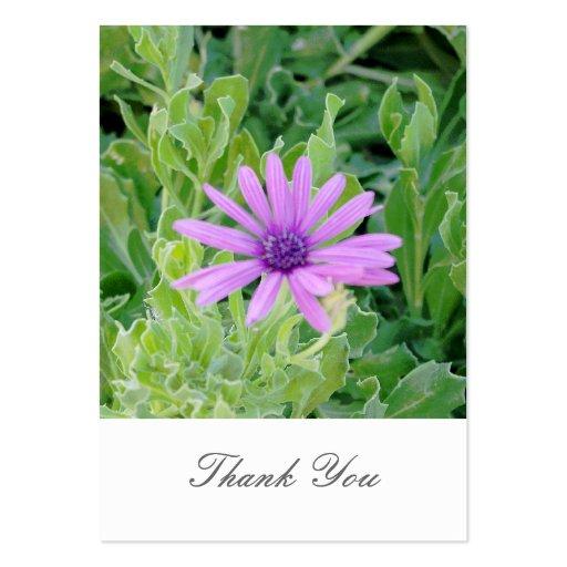 Cartões de agradecimentos florais do casamento do  modelos cartao de visita