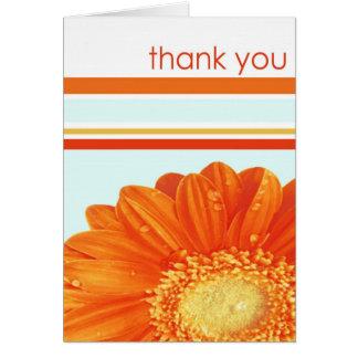 Cartões de agradecimentos florais do primavera