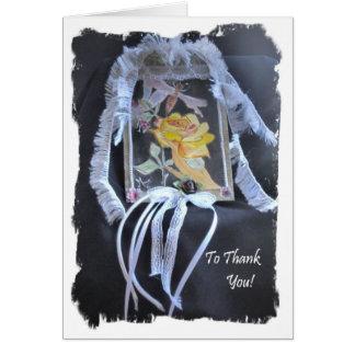 Cartões de agradecimentos impressionantes um