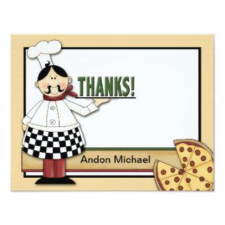 Cartões de agradecimentos lisos do partido da convite 10.79 x 13.97cm
