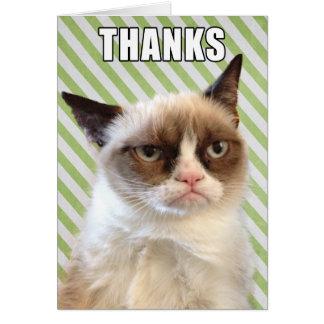 Cartões de agradecimentos mal-humorados de Cat™