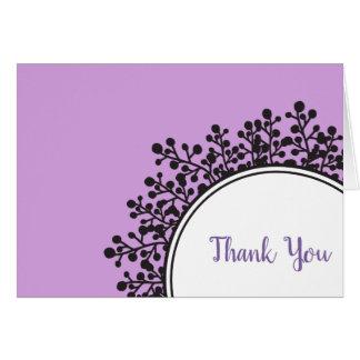 Cartões de agradecimentos MINÚSCULOS de Mitzvah do
