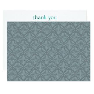 Cartões de agradecimentos modernos do Midcentury