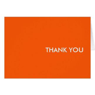 """Cartões de agradecimentos--""""orang-um-Tang """""""
