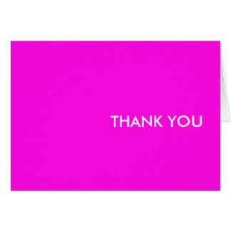 """cartões de agradecimentos--""""os anos 80 cor-de-rosa"""