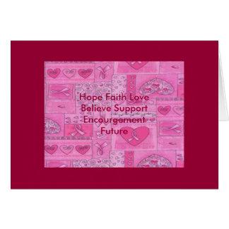 Cartões de agradecimentos para a cura