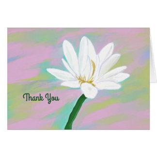 Cartões de agradecimentos para tudo que você fez