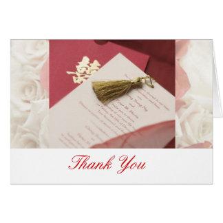 Cartões de agradecimentos para Wedding