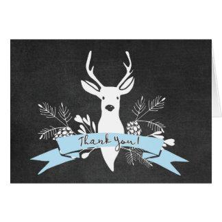 Cartões de agradecimentos, quadro dos cervos da